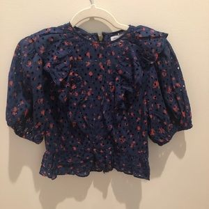 Never worn Urban outfitters cropped blouse